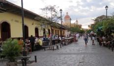 La Calzada street - Granada Nicaragua