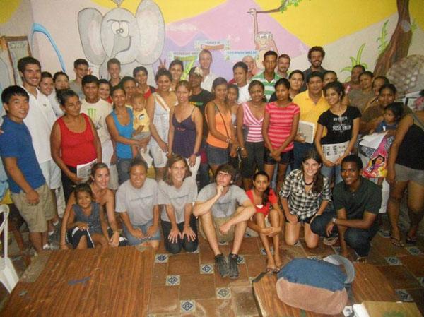 Spanish class at Casa Nica