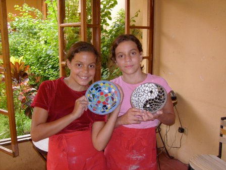 Children at La Calzada Art Center
