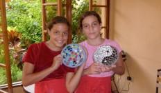 Children at La Calzada Art Center