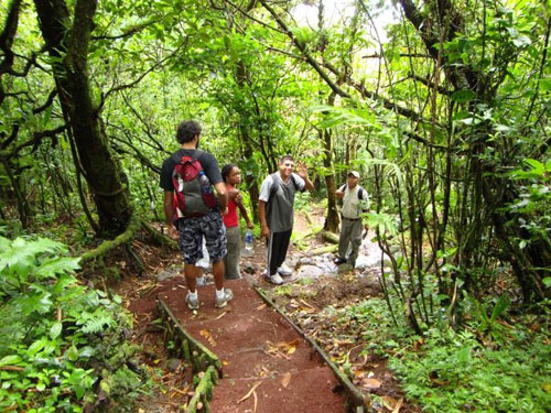 Hiking Tour of Volcano Mombacjo